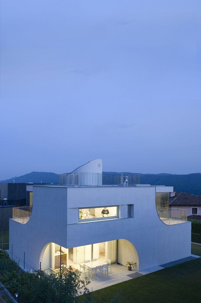 Celoria Architects Casa Unifamiliare Castel San Pietro San Pietro Castel House Styles