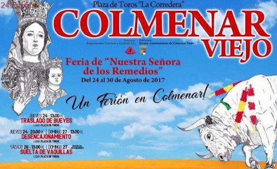 Ponce, Cayetano, Talavante, Roca Rey y Ginés Marín en una lujosa Feria de los Remedios de Colmenar Viejo