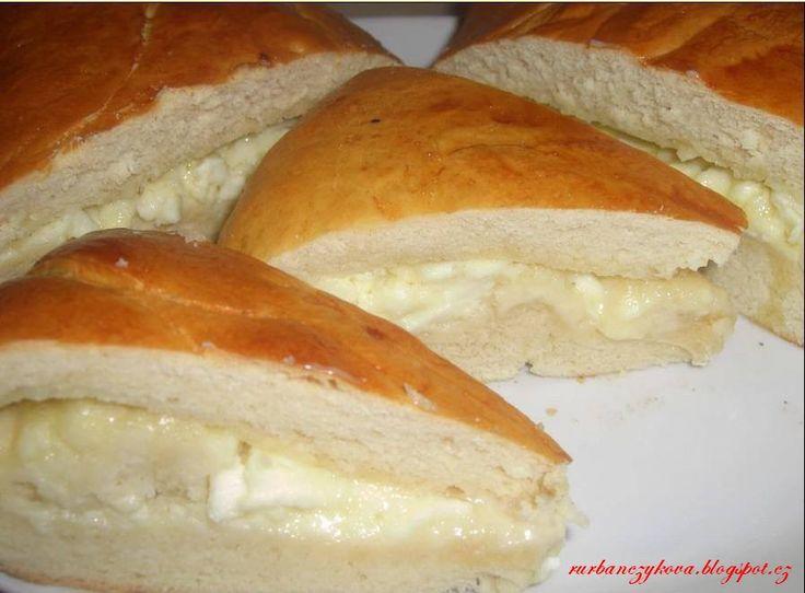 Gruzínský slaný koláč podle časopisu Food   mňamky-recepty.sk  na každý deň