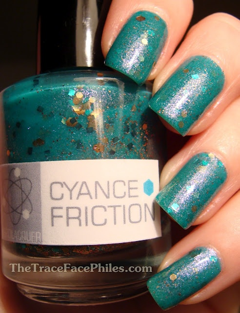 NerdLacquer Cyance Friction    (Beautiful!)