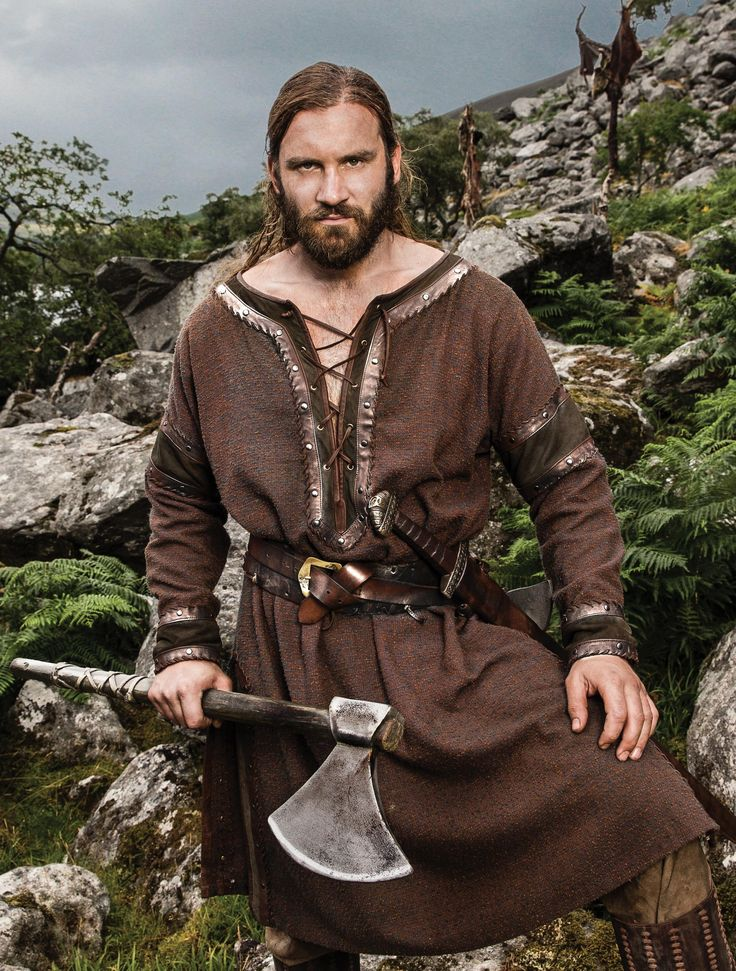 Clive Standen as Rollo - Vikings                                                                                                                                                                                 More