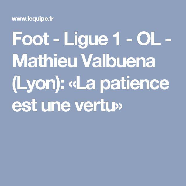 Foot - Ligue 1 - OL - Mathieu Valbuena (Lyon): «La patience est une vertu»