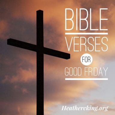 Bible verses for Good Friday