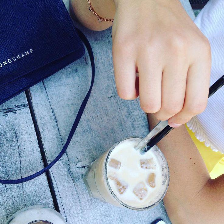 #icecoffee mit @raidboxes :D Hammer #wetter die Woche gehabt da muss man das schöne #wochenende ausnutzen! #startup #startups #startuplife #startuplifestyle #webhosting #blogging #blog #blogger #ecommerce #onlineshop @longchamp #münster #münsterland