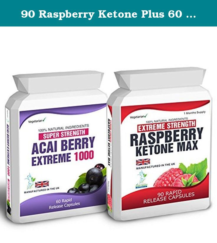90 Raspberry Ketone Plus 60 Acai Berry Extreme Weight Loss Slimming Diet Pills Slender Product. Raspberry Ketone Max Raspberry Ketones is a naturally occurring and now widely known for its potential health promoting and fat loss properties. Research has led experts to conclude Raspberry Ketones could help decrease the amount of fat both in liver and abdominal fat. Raspberries have been revered by indigenous people around the world for centuries, as they have seen how the tiny berries have...