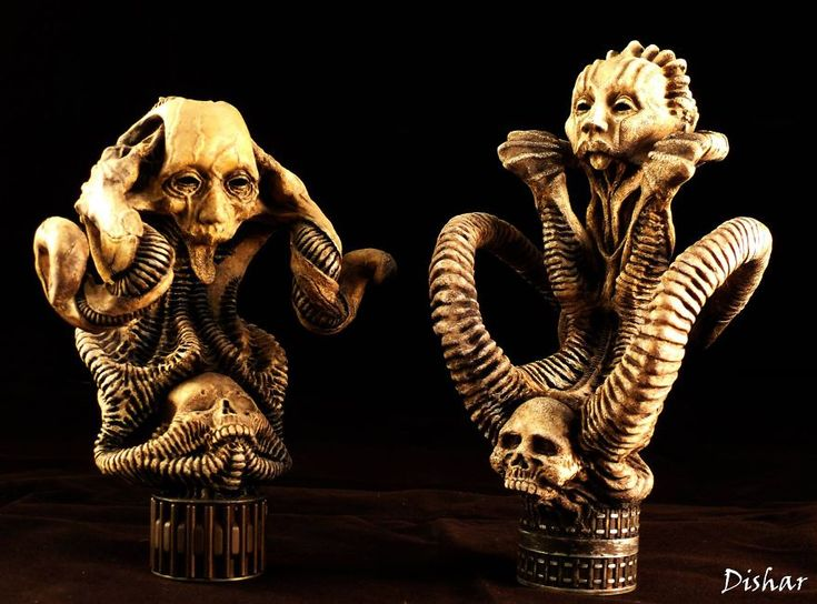 Unreal Eerie Sculpts By Polish Artist Are Like The Next H. R. Giger Generation   Bored Panda