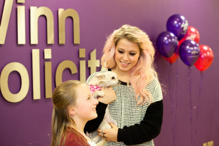 Read about Lauren, our meet & greet winner from Friday:  Lauren loses her locks - but wins Amelia's heart
