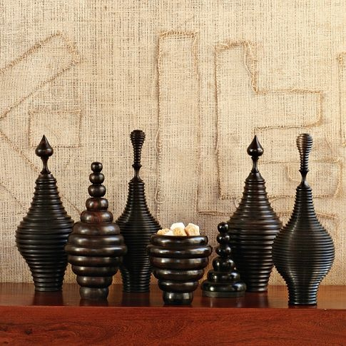 Sculptural Canisters - coming June 12th to west elm