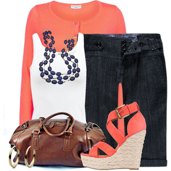 Matching Cardigan & Wedges by colierollers on Polyvore featuring Wolford, SPURR, Roque Bags, Gottex and Michael Kors