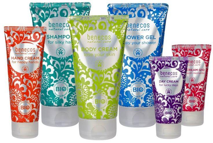 Benecos Organic Skincare Range - Hand Cream, Face Cream, Face Cream Q10, Shampoo, Shower Gel and Body Cream