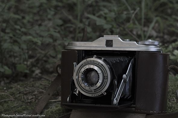 My awesome camera from the 50's!
