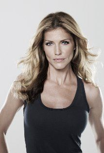 Tricia Helfer, voice of EDI in Mass Effect 2 & 3; starred as Number Six in the reimagined Battlestar Galactica TV series.