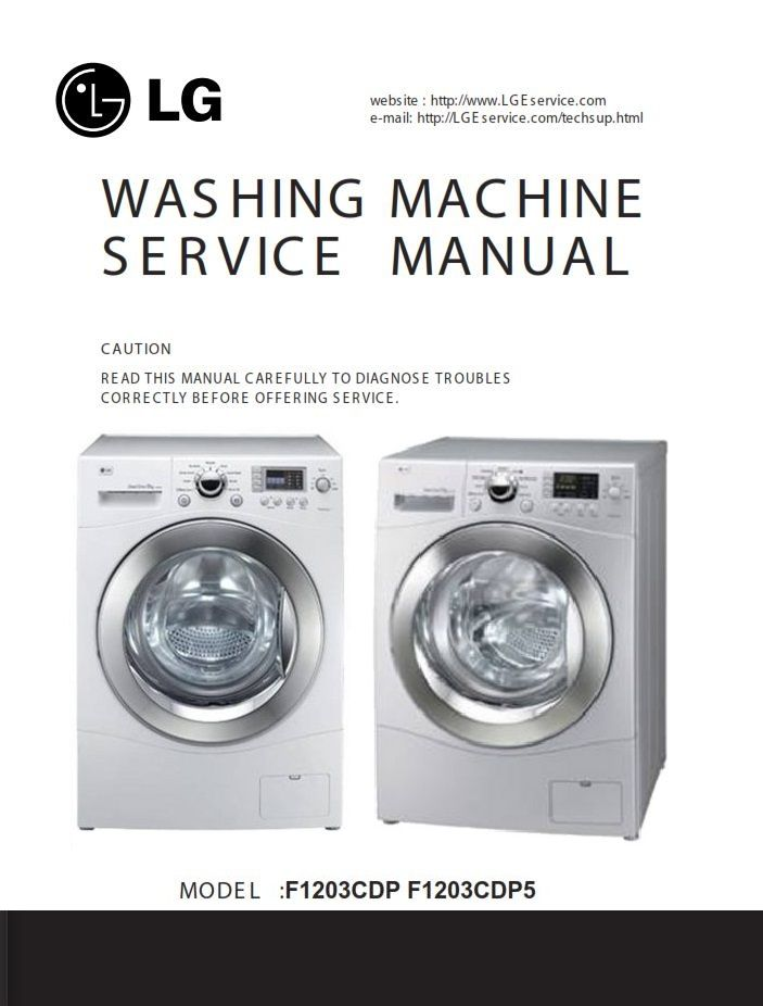 Lg Dryer Repair >> This Service And Repair Documentation Is Used By All Lg