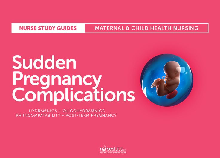 Featured- Sudden Pregnancy Complications