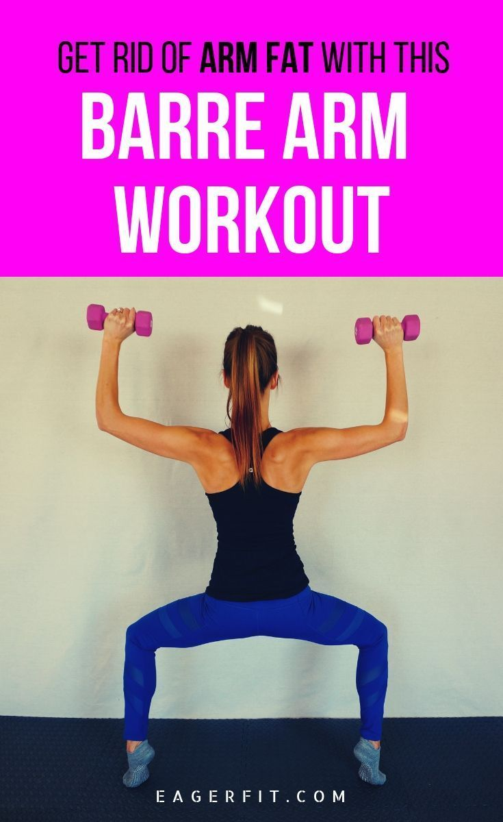Barre Arm Workout with Weights