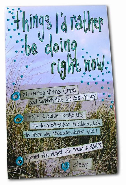A really good prompt ~ by Marit #journal