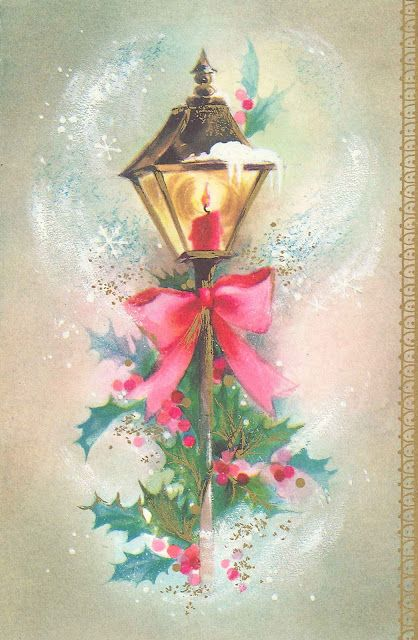 Very Merry Vintage Syle: Very Merry Vintage Christmas Card Images & Greetings {From Me to You}