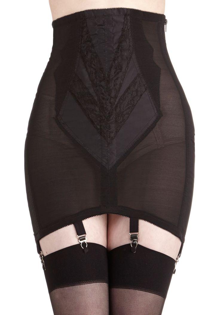 Polished Appearance Garter Skirt | Mod Retro Vintage Underwear | ModCloth.com