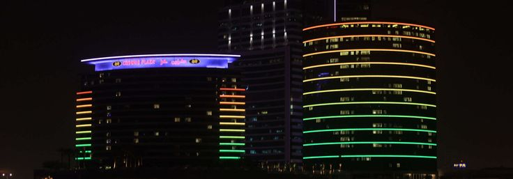 Dubai hotels-Find out how light is improving the image of two established hotels in Dubai