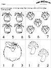 Counting and Number Recognition Worksheets