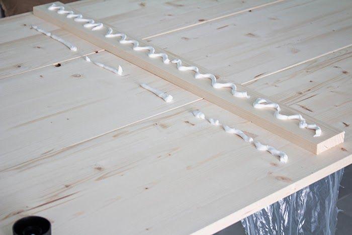 Diy mesa de comedor de tableros de madera 25 aniversario - Tablero contrachapado leroy merlin ...