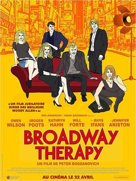 A tous ceux ceux qui, comme moi, trouvent que Woody fait des films moyens, voire mauvais, depuis Match Point, allez voir ce Broadway Therapy. C'est charmant, vraiment très drôle, le casting est parfait, et y a même un certain nombre de featurings très sympas. Et c'est une ode au cinéma! Le film d'avril, pour moi...