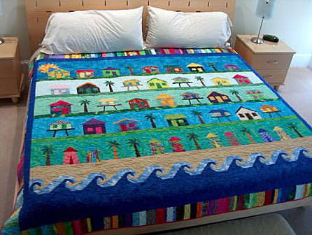 Beach Quilt  I wish I could find this pattern