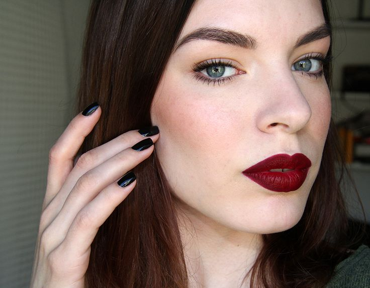 Quot Bichette From Colourpop Such A Perfect Deep Cherry Red