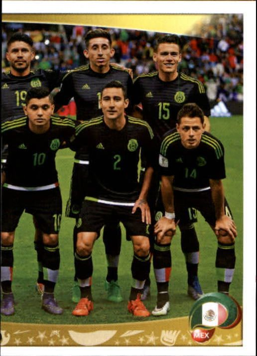 2016 Panini Copa America Centenario Stickers #208 Mexico Team