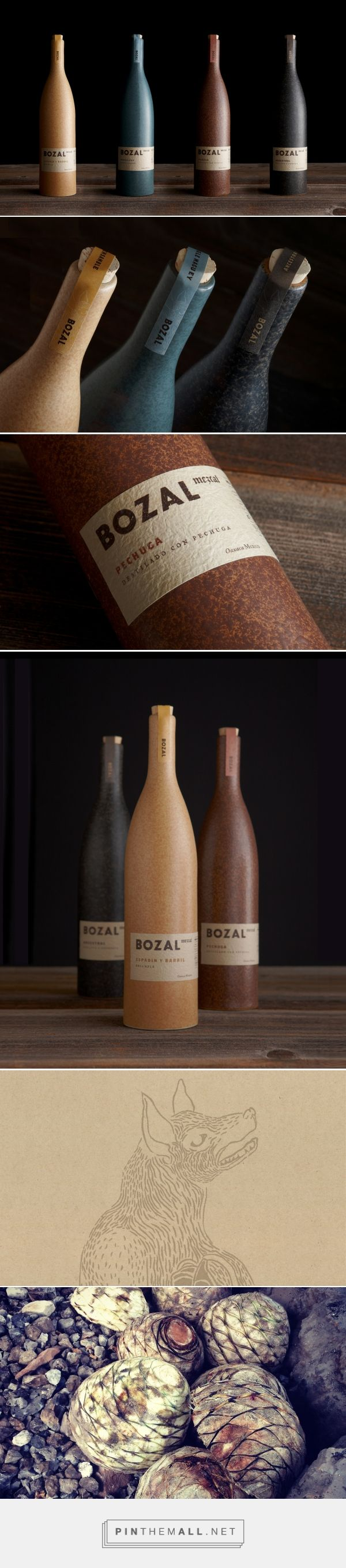 Bozal Mezcal packaging design by Swig - http://www.packagingoftheworld.com/2018/01/bozal-mezcal.html