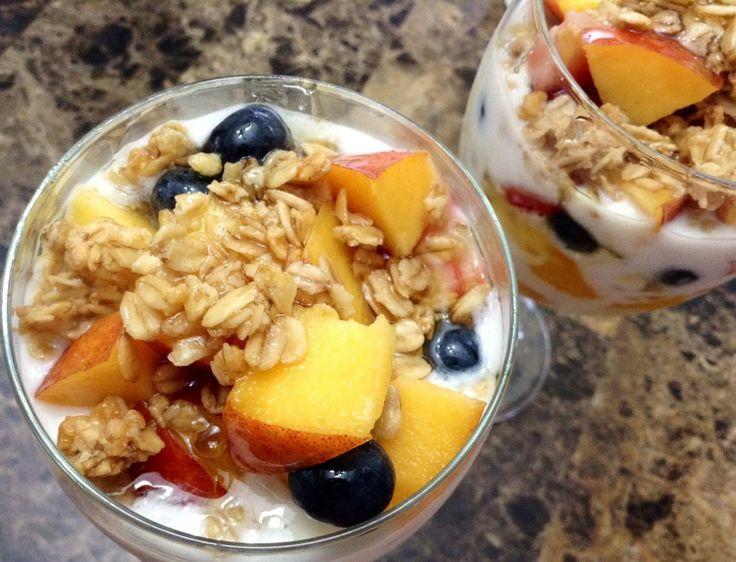 Honey Granola Yoghurt Parfaits – Foodfellas 4 You
