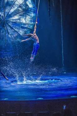 """A scene from Cirque du Soleil's """"Luzia,"""" opening in San Francisco under the Grand Chapiteau in Parki... - Luarence Labat"""