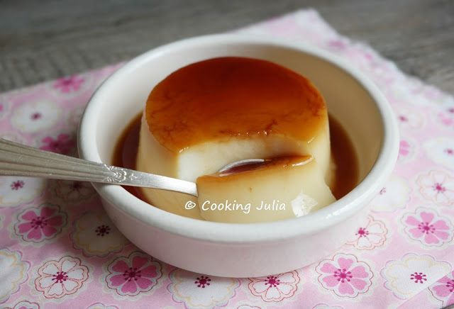 COOKING JULIA: FLANBY