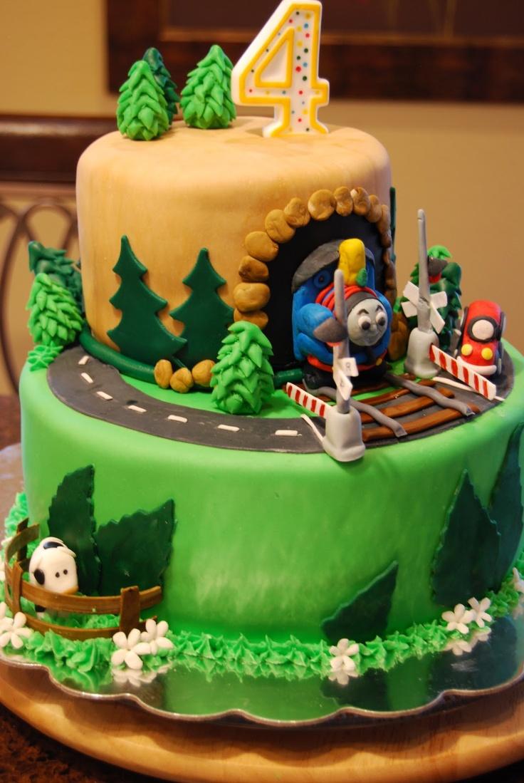 Train Cake Gamma Susies This N That Thomas The Train