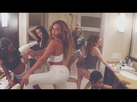 Beyoncé Filmed Her Entire New Video Herself, in Her Underwear | WhoWhatWear