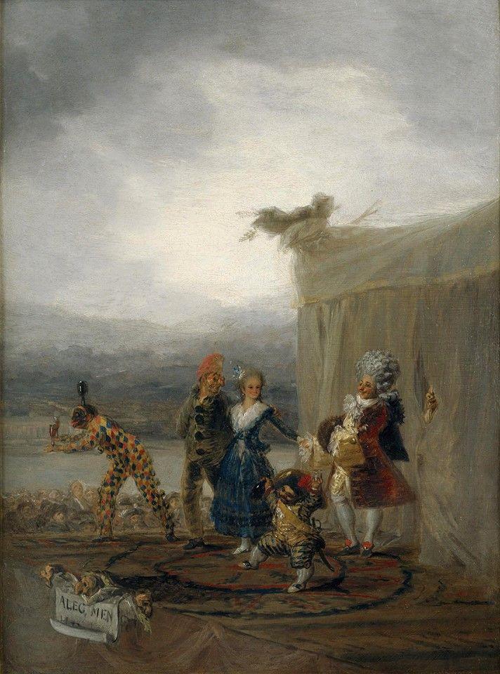 Goya, Cómicos ambulantes, 1793, Museo del Prado (Madrid).