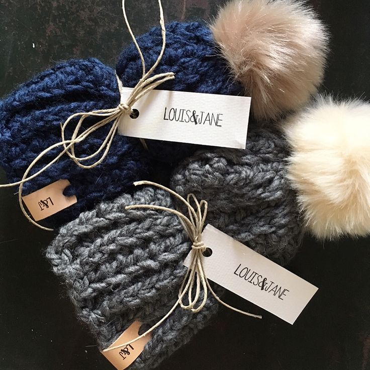 Baby hat, crochet baby hat, pompom hat