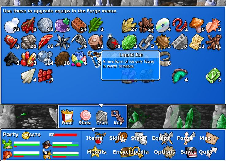 Epic Battle Fantasy 4 has a rather cheeky sense of humor