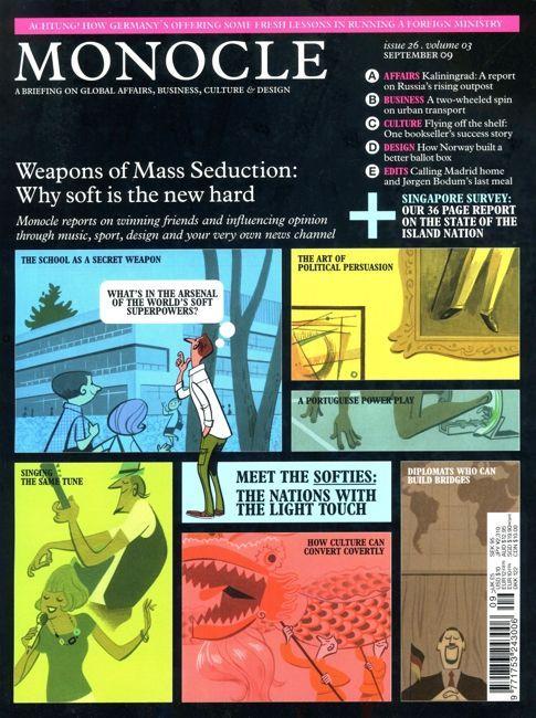 Monocle cover magazine