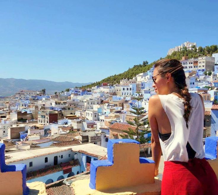 Peaceful view of the #Bluecity #Chefchaouen, #Morocco <3   #Peace #Holidays #Travelling #Tourist #UK #ViriksonMoroccoHolidays #MoroccoHolidayPackages
