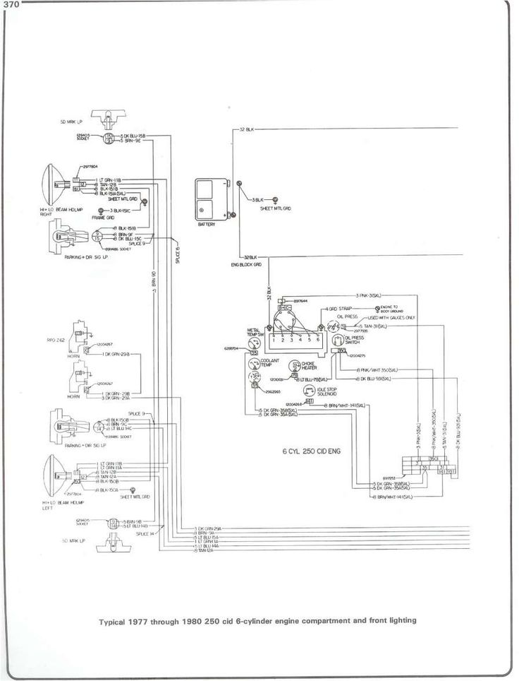 15  1985 Chevy C10 Engine Wiring Diagram -