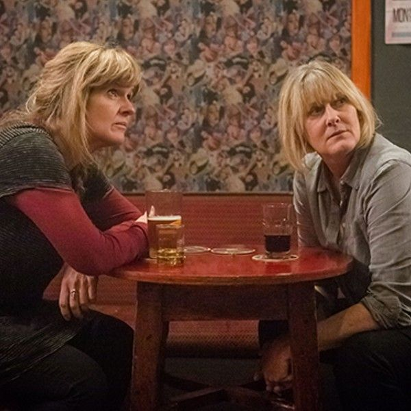 Happy Valley's Sarah Lancashire and Siobhan Finneran are my favourite TV double act