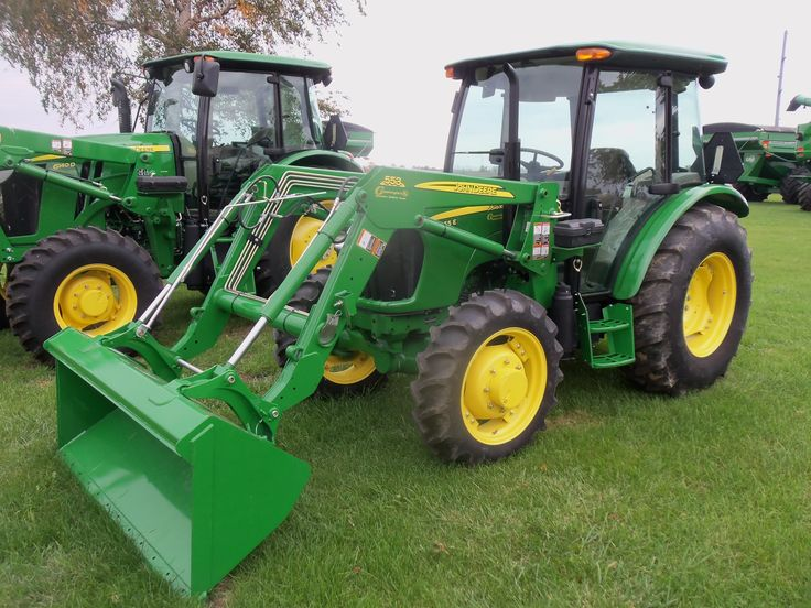 55hp John Deere 5055E with 553 loader