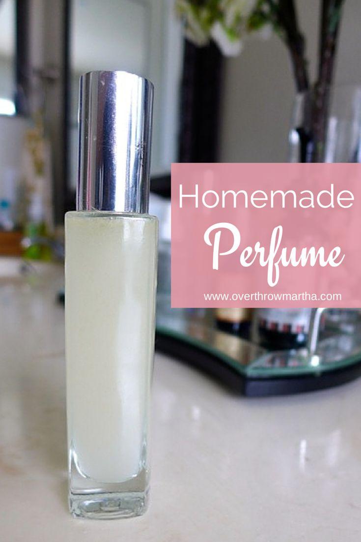 Make your own #DIY easy #perfume as a #DIYbeauty idea!