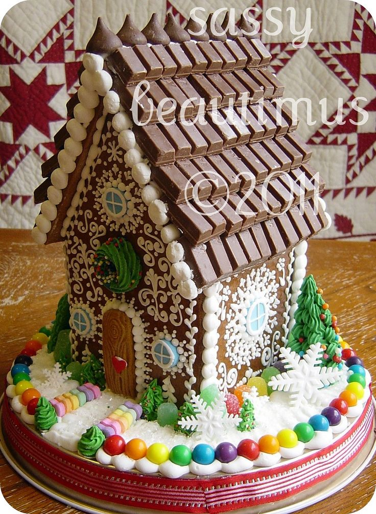 759 Best Christmas Gingerbread Images On Pinterest Christmas