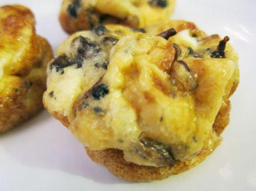 French Truffles Recipe | Wild Mushroom and Truffle Muffin-Tin Omelets
