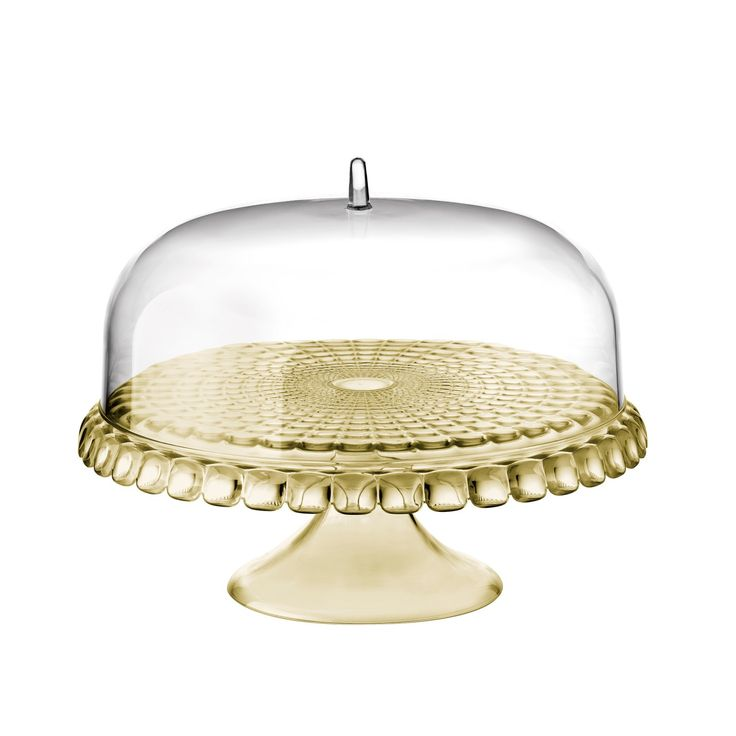 Tiffany Cake Stand with Dome by Guzzini