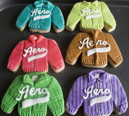 Aeropostale Sweater Cookies charming-cookiesCharms Cookies, Cookies Monsters, Aeropostale Sweaters, Sweaters Cookies, Yummy Food, Favorite Recipe, Aeropostal Sweaters, Awesome Cookies, Food Drinks