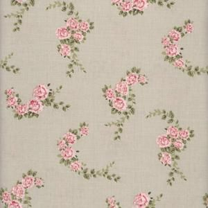 Blossom Rose Toffee Oilcloth