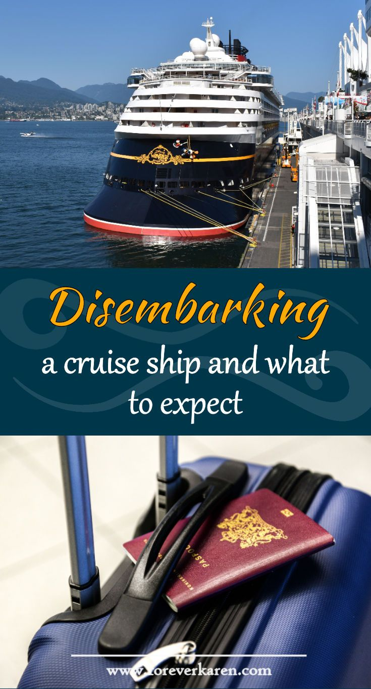 Debarkation Day Tips Every Cruiser Should Know Forever Karen Cruise Ship Cruise Tips Cruise